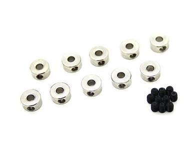 Landing Gear Wheel Stop Collar For 3mm Axle (10pcs