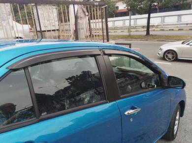 Perodua bezza door visor air press