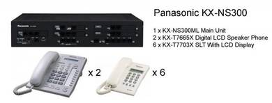 Panasonic KX-NS300 Smart IP PBX Hybrid System