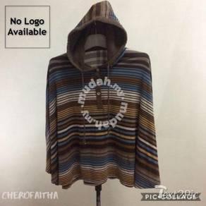Stripes adult cape cloak overdress