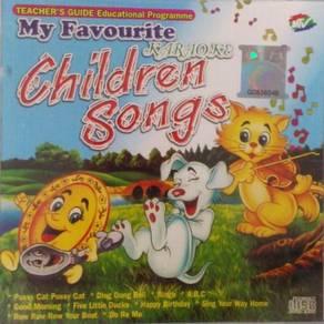 CD My Favourite Children Songs Karaoke