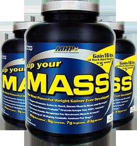 MHP Up Your Mass Weight Gainer 4.6lbs weight gain