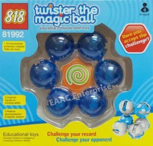 Twister Magic Ball Pressure Relief Puzzle Cube