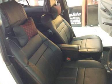 Perodua Axia Semi leather seat cover