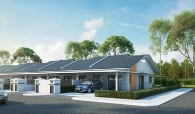 100% Loan, Single Storey Terrace, Junjong, Kulim, Kedah, Junjung