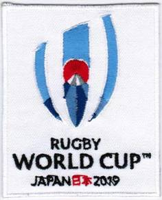2019 9th Rugby World Cup iRB Badge Iron On Patch