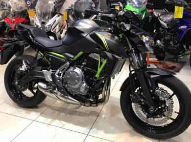 Kawasaki Z650 ABS ~ Exhaust Click For No SST Price