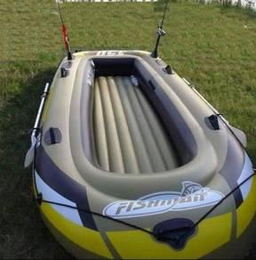 FISHMAN Inflatable Boat Bot Getah Pancing Fishing
