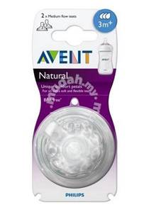 Avent Natural Teats - Medium Flow