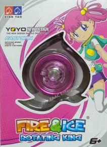 Dazzle Cruel Pink Yoyo - Fast Spinning Toys