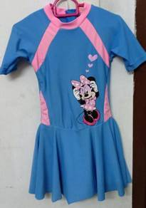 Ogival Mickey Mouse Swimming Suit Baju Mandi Kid