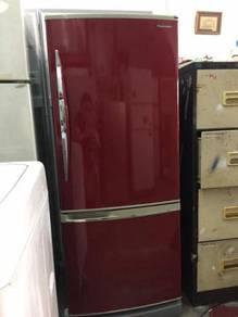 Panasonic 2 doors fridge Peti Sejuk Ais