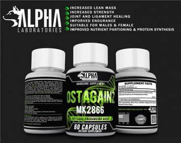 Alpha lab Sarms Mk2866 Ostarine Ostagain Recovery