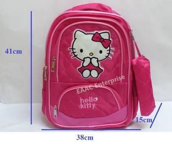 Kitty Kid Primary Secondary Student School Bag