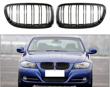 Bmw e90 Glossy Black Kidney Grill Front Grill