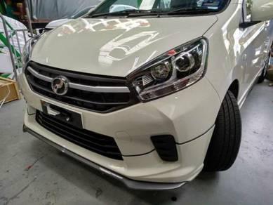 Perodua axia new model g spec body kit pur