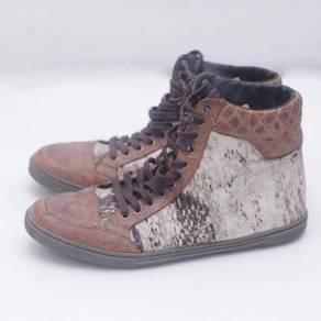 JUST CAVALLI Sneakers Men - Brown High- Size 40