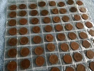 1 cent 1962 100pcs