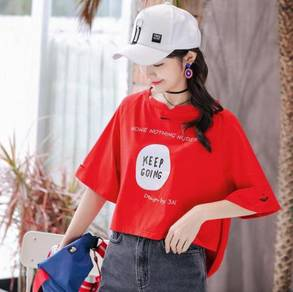 Women's Loose Thin Fashion Letter WFCZX 31186