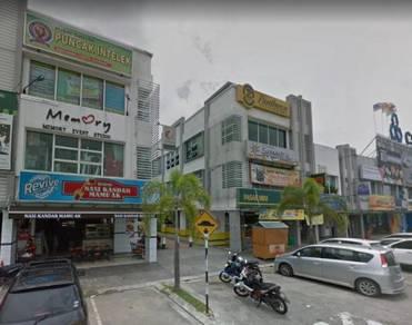 Limited Unit 3 Sty End Lot Shop Bandar Bukit Raja 38x80sf Klang