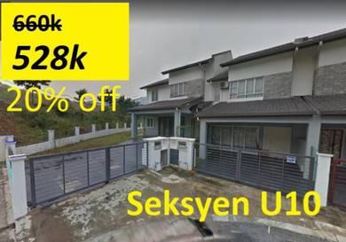 (20% OFF) Rumah Modern U10