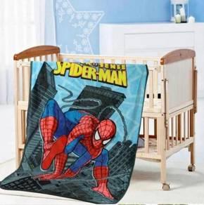 SPIDERMAN A Selimut Fleece Blanket Bigger 1.5X2M