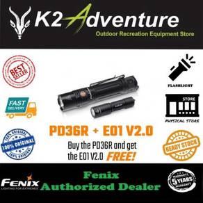 Fenix pd36r luminus sst-40 led 1600l flashlight