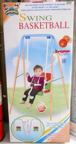 Children metal swing and basket ball set Free Post