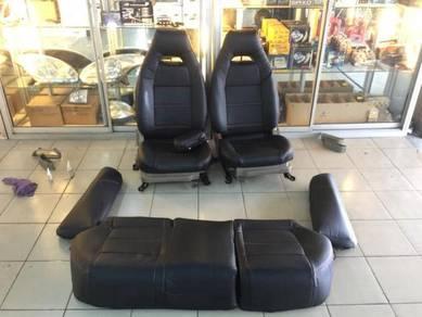 Proton Gen 2 persona semi leather seat cover