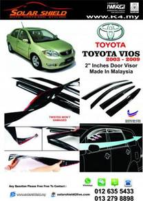 Toyota Vios 2003 Mugen Door Visor