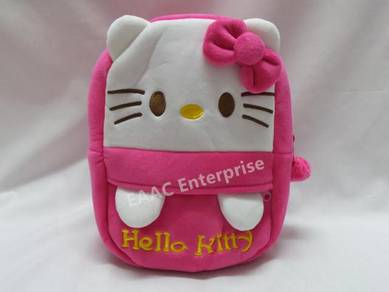 Cute Cartoon Hello Kitty Kid Backpack School Bag