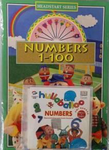VCD Numbers 1 To 100 + Hullaballoo Numbers Floella