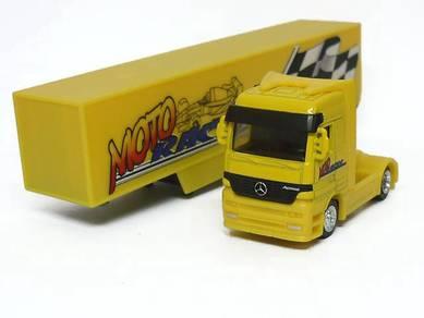 1/87 mercedes benz actros moto racer truck