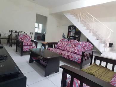 Double Storey Terrace House at Taman Nusa Bayu Iskandar Puteri