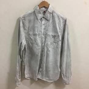Rock Revival button shirt size L double pocket