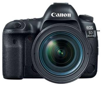 EOS 5D Mark IV DSLR Camera With 24-105mm F/4L Lens