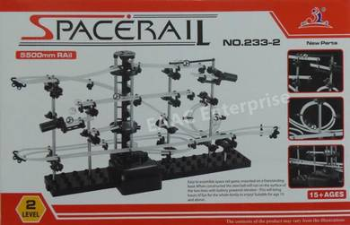 SpaceRail DIY Physics Space Ball Rollercoaster