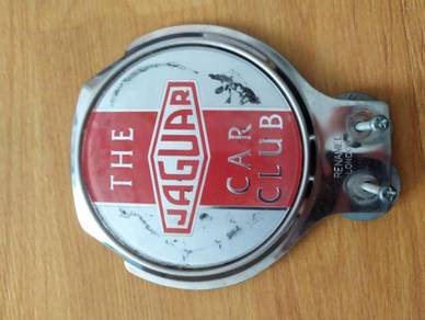 TEXP London Renamel Jaguar Car Club Car Badge