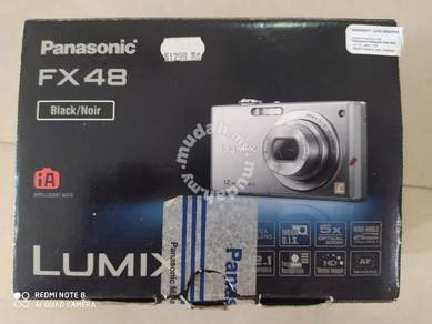 Panasonic Lumix Camera FX48