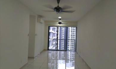 Basic unit with 2 Air-cond and Water heater, KL Trader Square condo