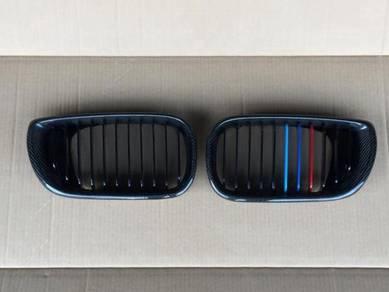 BMW E46 facelift carbon fiber grill e46 m3 bodykit