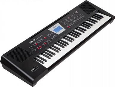 Roland bk3 / bk-3 Keyboard (FREE Headphones & Stan