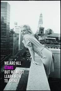 Poster MARILYN MONROE QUOTES V 1
