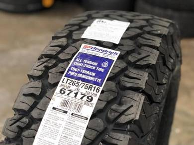 New BF Goodrich AT KO2 Tyres 265/75/16 2657616
