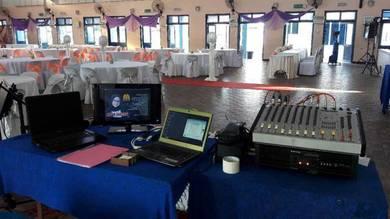 Pa system/karaoke set