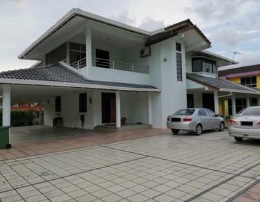 Double storey detached house at Jalan Stampin