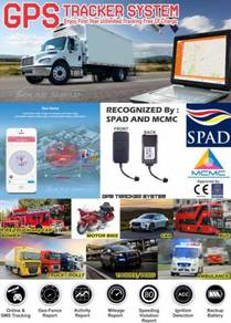 GPS Tracker System GPS Tracking Approve By APAD