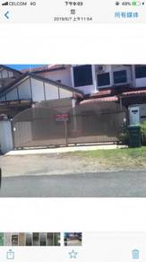 Double storey terrace house Taman Bukit Bendera