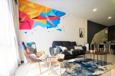 K Avenue - Airbnb   5.47% Rental Yield   2 Rooms 2 Bath   1 Car park