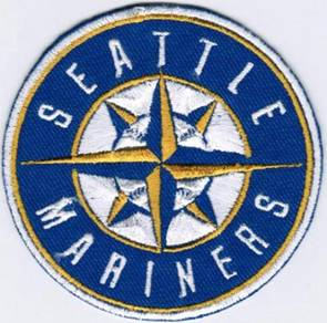 MLB Seattle Mariners 2015 Major Baseball Patch